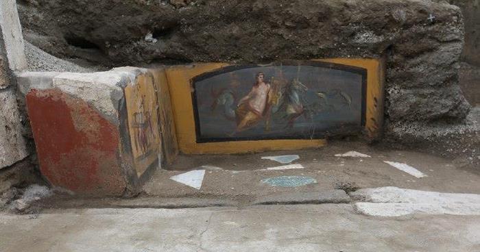 "Pompei emerge ""tavola calda"" del 79 D.C, dopo alcuni scavi"