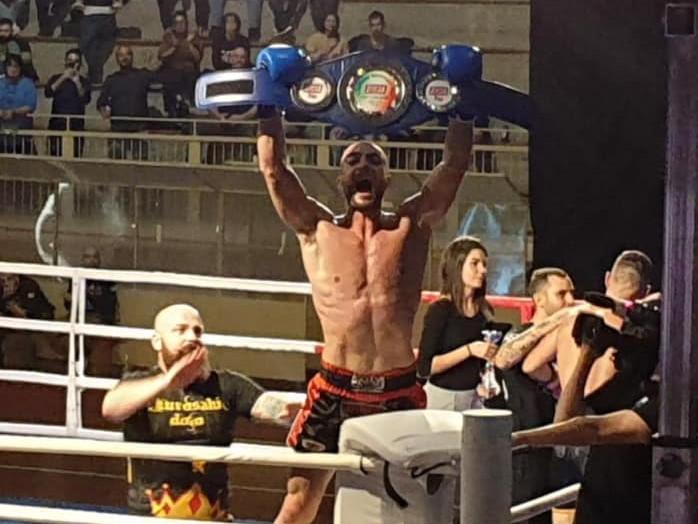 Il ragusano Marco Schembri campione italiano pro fcr di Muay Thai k1