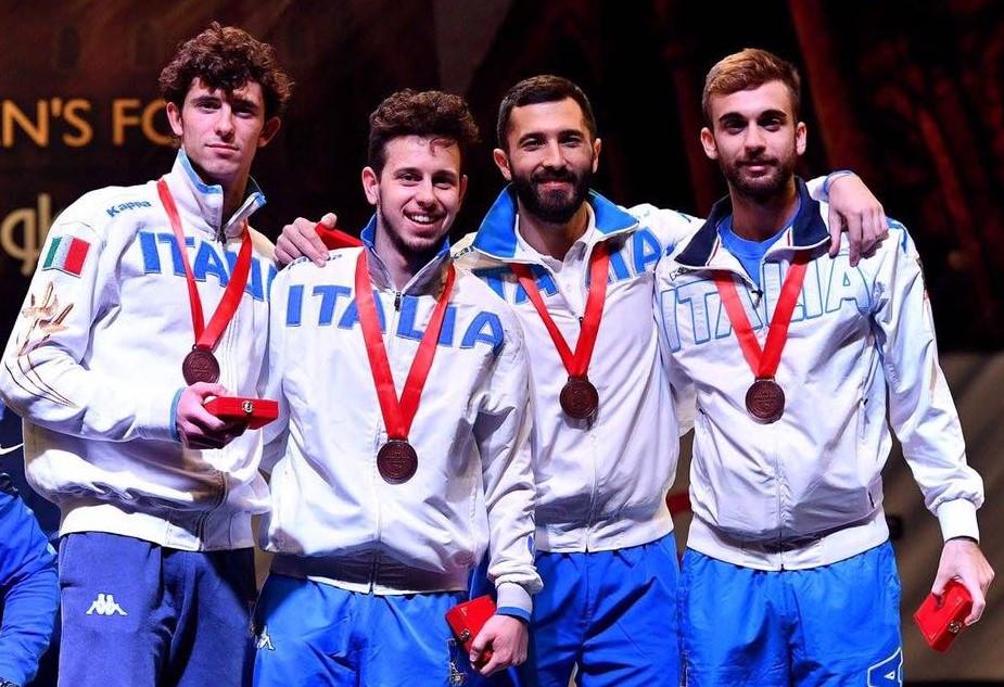 Conad Scherma Modica, bronzo a squadre per Giorgio Avola in Egitto