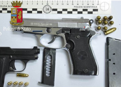 Trovato con armi clandestine, un uomo arrestato a Carlentini