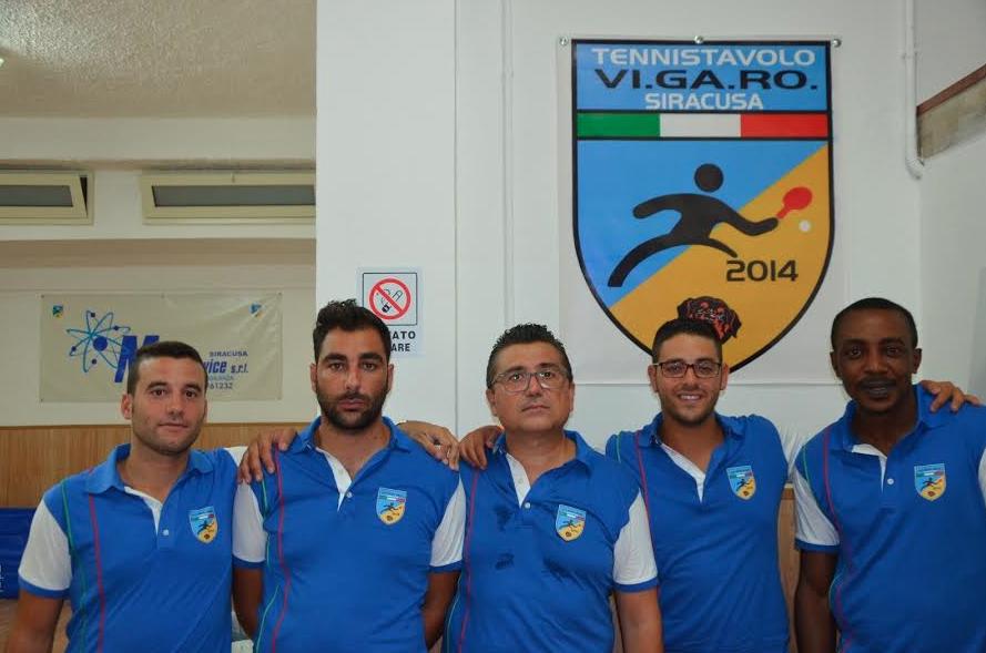Siracusa, tennis tavolo: l'A.S.D. Vi.ga.ro affronta il Falcon Palermo