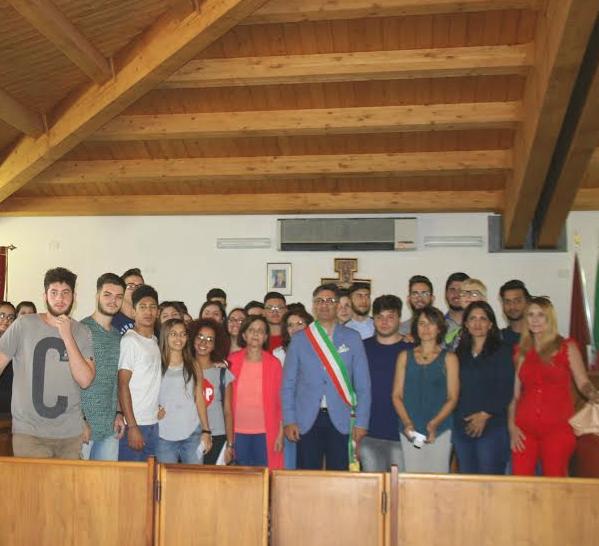 """Rosolini, il sindaco incontra gli studenti del 1° Istituto Superiore """"Archimede"""""""