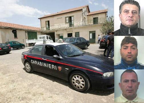 Mafia, estorsione e minacce ad un imprenditore edile: 3 arresti nel Catanese