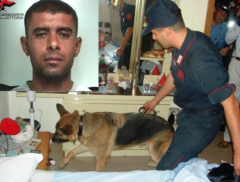 Acate, blitz antidroga: arrestato giovane pusher e segnalati 7 assuntori