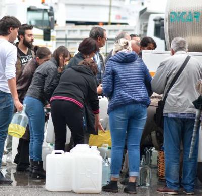 E' ancora crisi idrica a Messina, il by-pass si guasta e la situazione precipita