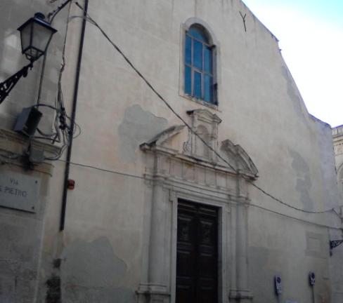 Siracusa, il Club Lions restaura il portone della Chiesa del Carmine