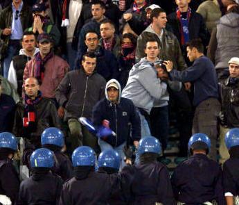 Catania, altra DASPO per tifoso ultras etneo: aveva lanciato una pietra agli agenti