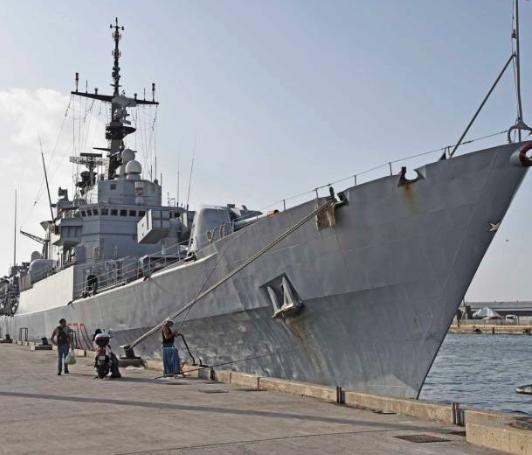 Catania, Marina Militare: ultima visita al porto della nave Maestrale