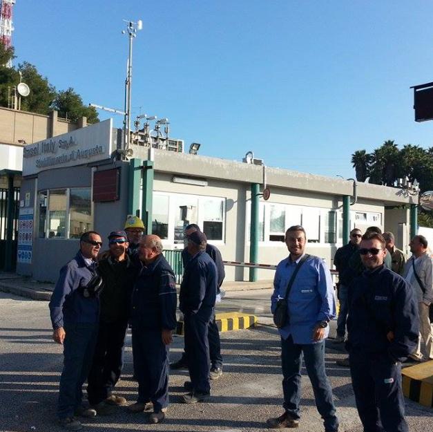 Augusta, 30 esuberi alla Riva & Mariani Group: bloccata la portineria automezzi Sasol