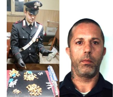 Catania, i carabinieri lo trovano in possesso di cocaina e marijuana: arrestato
