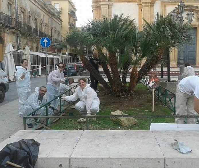 Augusta, il Movimento 5 Stelle lancia il restyling di Piazza Duomo (FOTO)