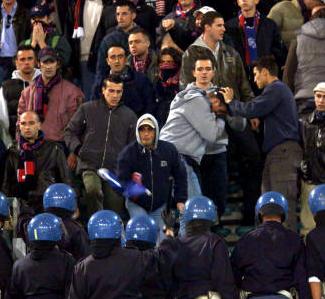 E' sottoposto a Daspo ma va allo stadio, denunciato tifoso dell'Aci Sant'Antonio
