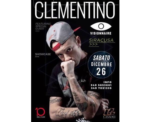 Il rapper Clementino per la prima volta a Siracusa, ecco dove e quando