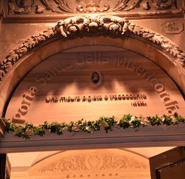 Modica, Casa don Puglisi: aperta la Porta santa della misericordia