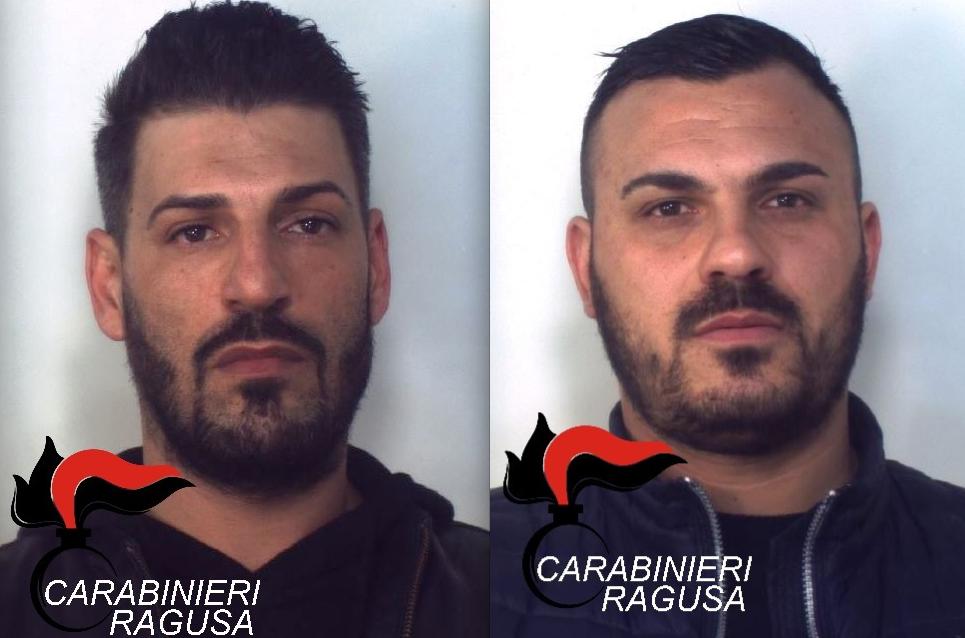 Santa Croce Camerina, i carabinieri arrestano due vittoriesi per spaccio