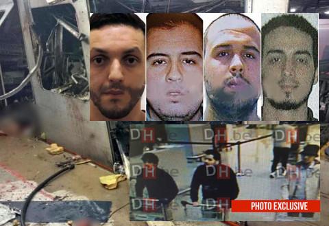 Belgio, la polizia ferma 4 sospetti per gli attacchi di Bruxelles