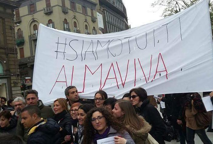 Almaviva: verso Tavolo Mise, veglia per il lavoro a Palermo