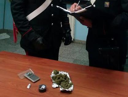 Floridia, arrestato dai carabinieri pregiudicato in possesso di marijuana