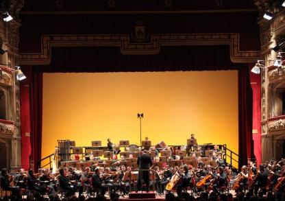 L'orchestra della Rai da spettacolo a Catania
