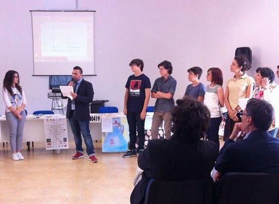 I ragazzi de Liceo Vittorini di Lentini premiati per due booktrailer