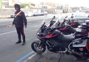 Catania, Picanello passato al setaccio: sequestrati 14 motocicli