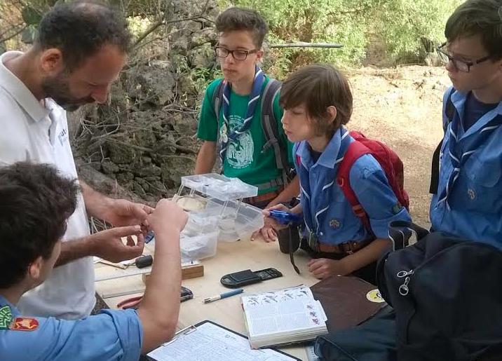 San Gregorio, gli scout scoperta l'avifauna della riserva naturale