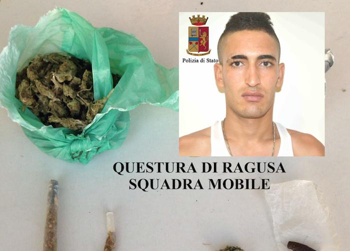 Ragusa, arrestato spacciatore recidivo di origine tunisina
