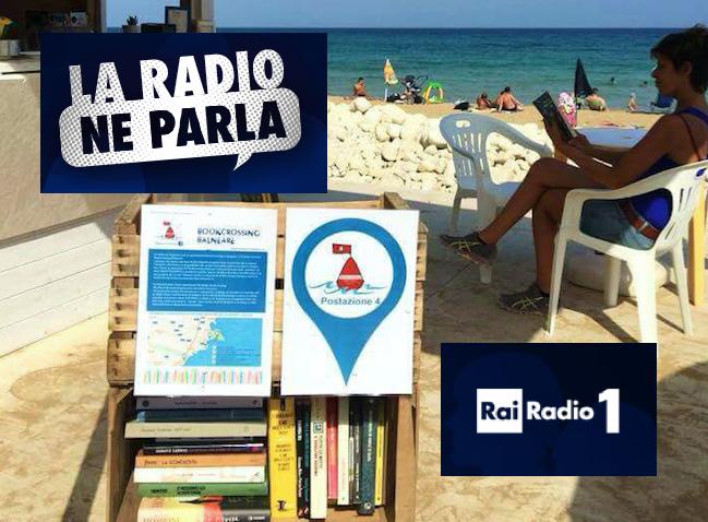 Il Bookcrossing Balneare di Siracusa in diretta da Radio Rai