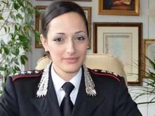 Un capitano donna al comando della Compagnia  carabinieri di Augusta