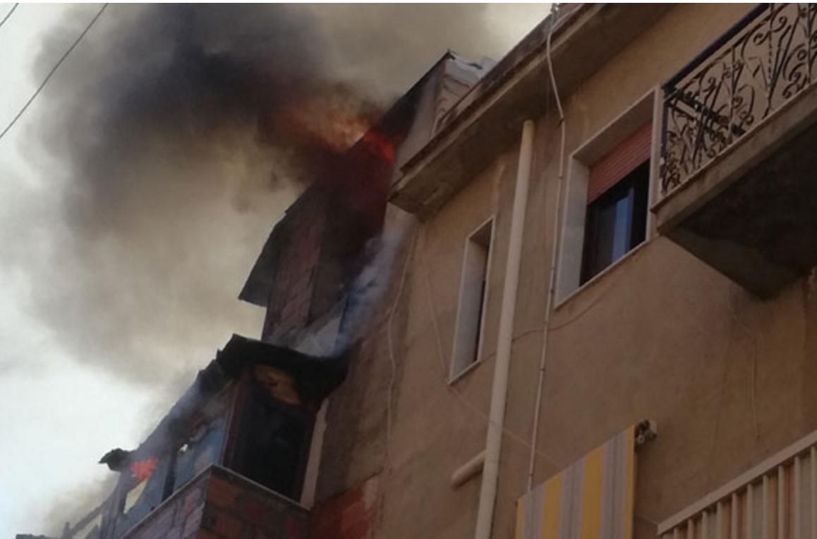 Appartamento in fiamme a Gela, donna muore carbonizzata