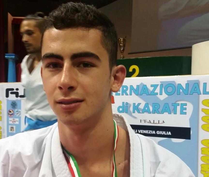 Il vittoriese Panagia conquista l'oro nello stage di Lignano