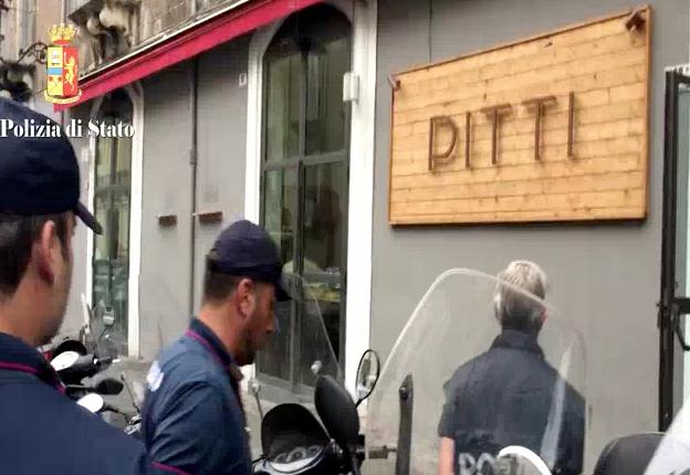 """Mafia a Catania, il Gip ordina il sequestro del ristorante """"Pitti"""""""