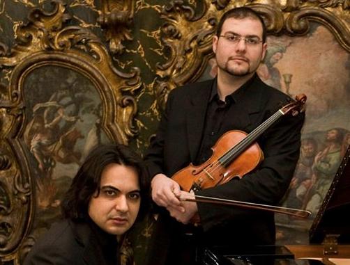 Siracusa, concerto del Duo Aetneo al Salone Carabelli