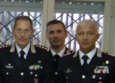 Encomio del generale Ghiselli a sette carabinieri di Pachino