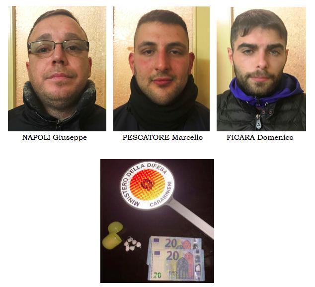 Catania, sgominata una gang di presunti spacciatori: arrestati