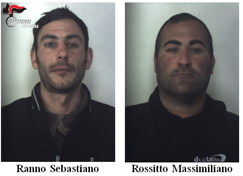 Siracusa, tre arresti dei carabinieri in circostanze diverse
