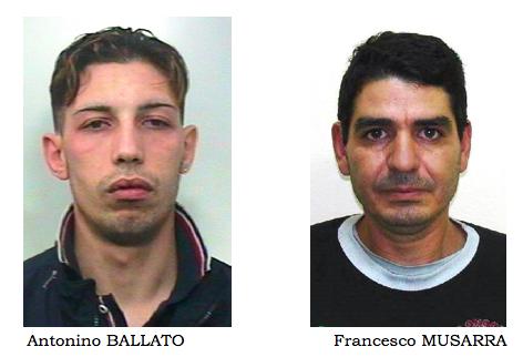 Paternò, a bordo di un'auto rubata: arrestate due persone