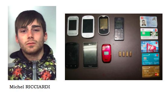 Trovato con proiettili e carte bancomat rubate: arrestato nel Catanese