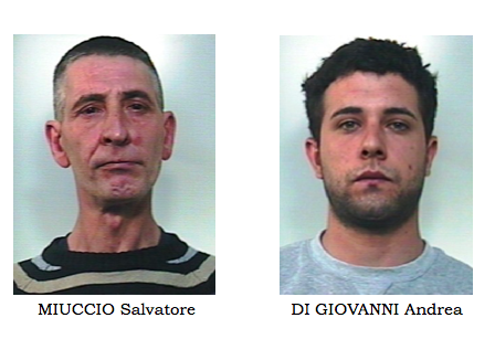 Furti in abitazioni nel Catanese, identificati e arrestati i responsabili