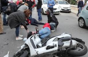 Palermo, moto travolta da un'auto: morta una donna di 30 anni
