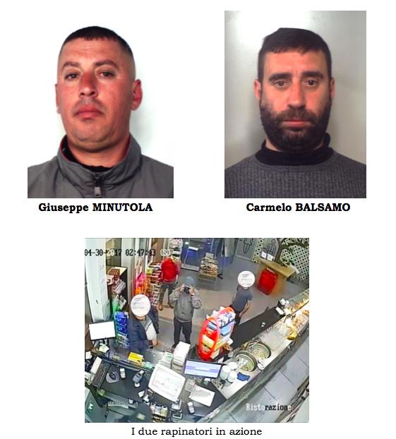 Catania, assalto a un distributore Eni: presi i due presunti rapinatori