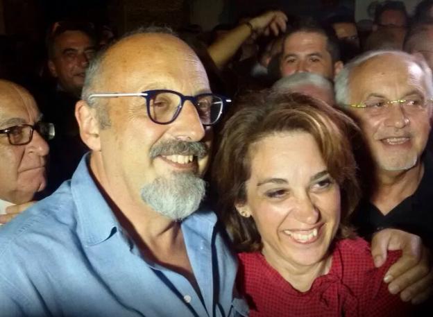 L'ex ministro Cardinale trascina Francesca Valenti : è sindaca di Sciacca