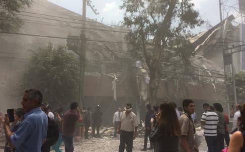 Forte scossa di terremoto in Messico di magnitudo 7.2