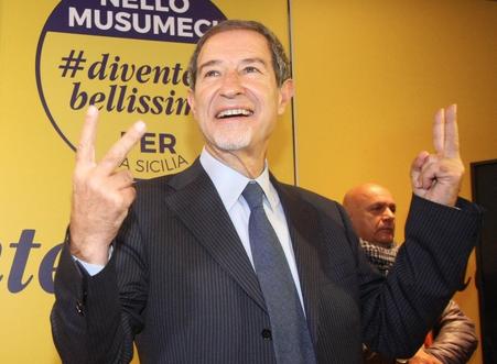 Musumeci  è governatore  con una maggioranza risicata