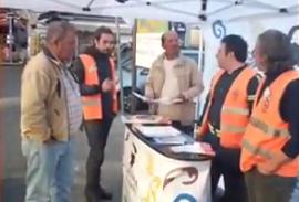 Raccolta differenziata a Catania, tante gente negli info point