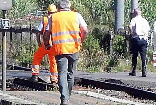 Giovane migrante travolto e ucciso da un treno a Benevento