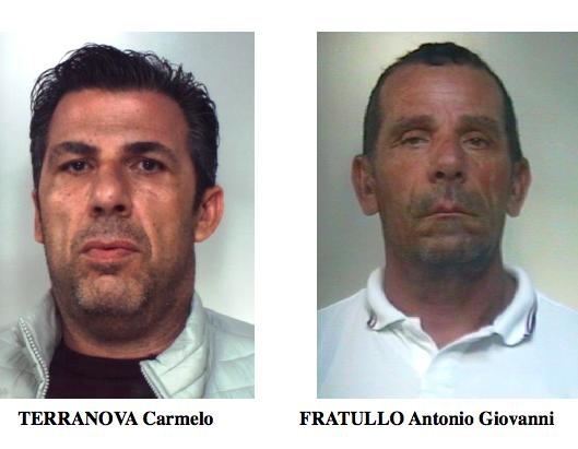 Affiliati al clan Santapaola-Ercolano, due arresti a Palagonia