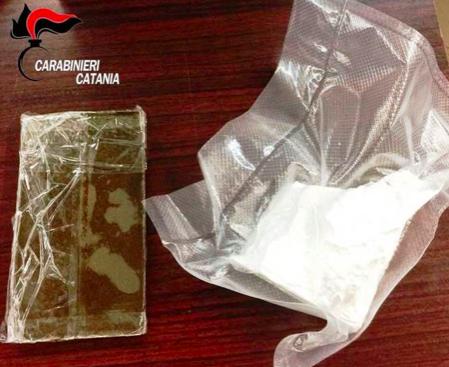 Trovato con droga durante un controllo, un arresto a Catania
