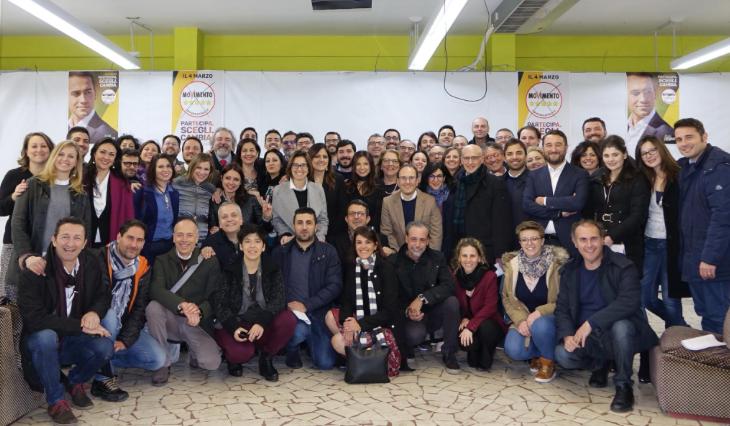 Deputati regionali e neo eletti a 5 Stelle riuniti a Caltanissetta