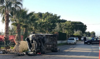 Bisceglie, morti due fratelli in incidente stradale